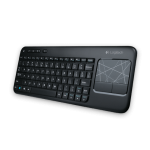 Keyboard  Trackpad Logitech Wireless k400r