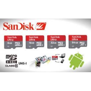 SanDisk MicroSD Ultra 64GB 48MB/s